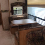 cedar creek 5th wheel travel trailer rental at susquehanna trail campground in ny