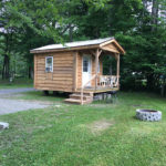 creekside cabin at susquehanna trail campground near cooperstown ny