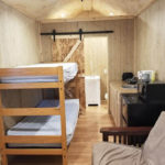 30 foot deluxe cabin at susquehanna trails campground in ny
