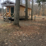 Moose Lodge Vacation Cabin Rental at Susquehanna Trail Campground in NY