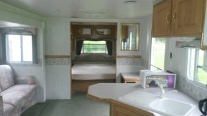 cooperstown camper rental at susquehanna trails campgrounds in ny